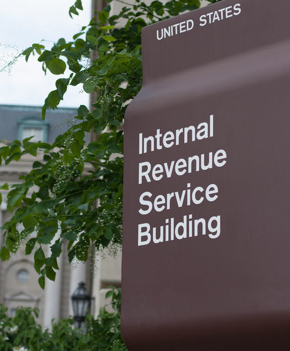 irs headquarters sign in washington d.c.
